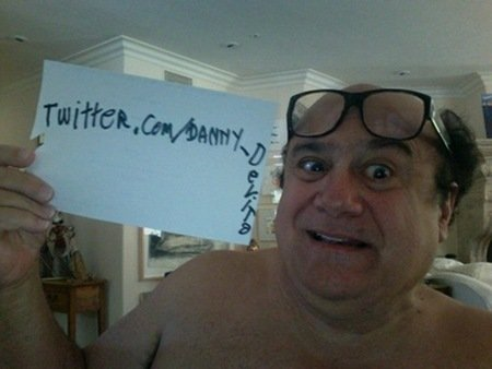 danny devito twitter