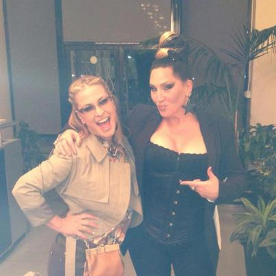 Photo of Anastacia & her friend   -