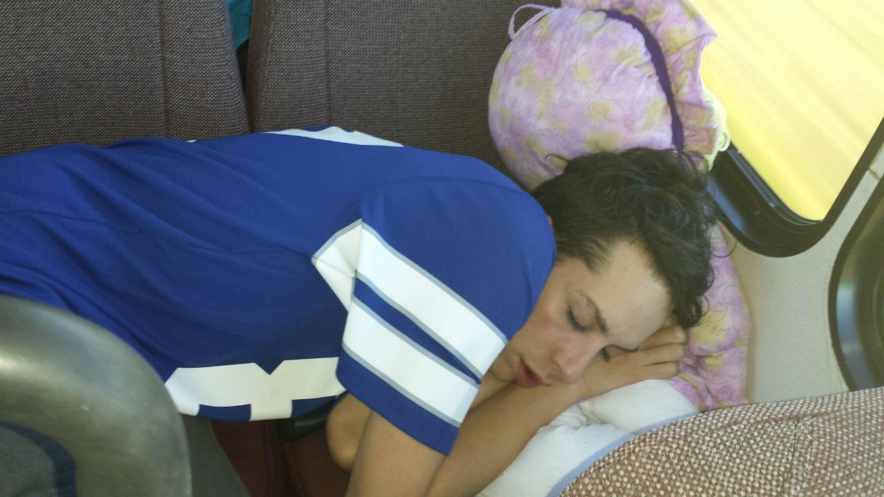 sleepinglasky